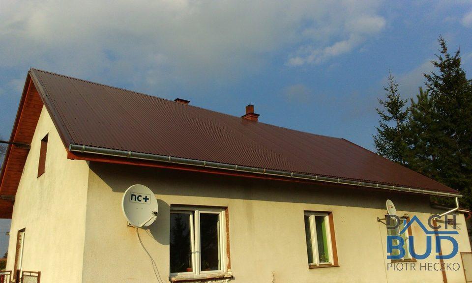 Wymiana pokrycia dachu w Chybiu