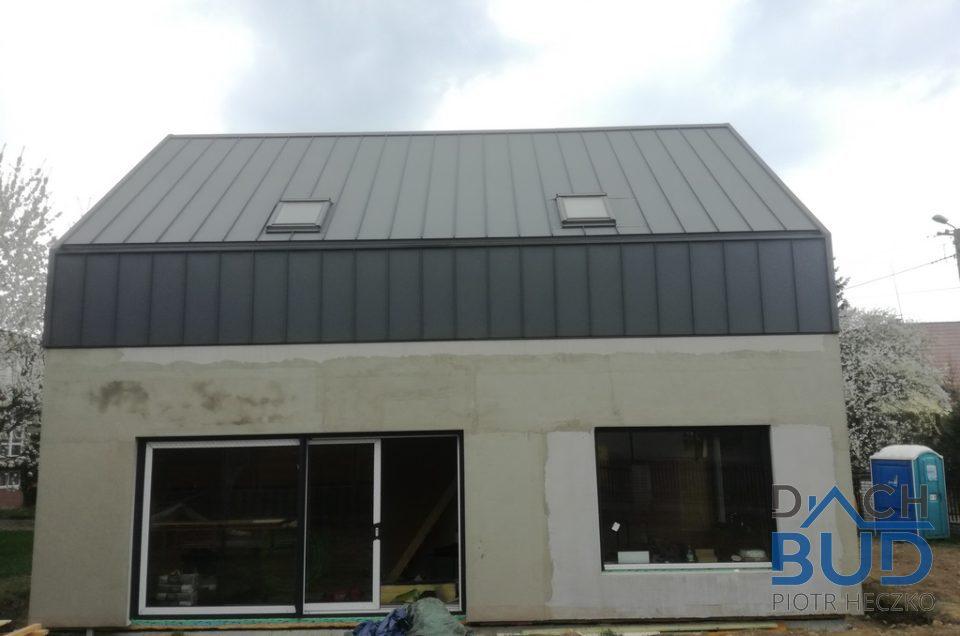 Dach kryty blachą Ruukki Classic w Bielsku – Białej